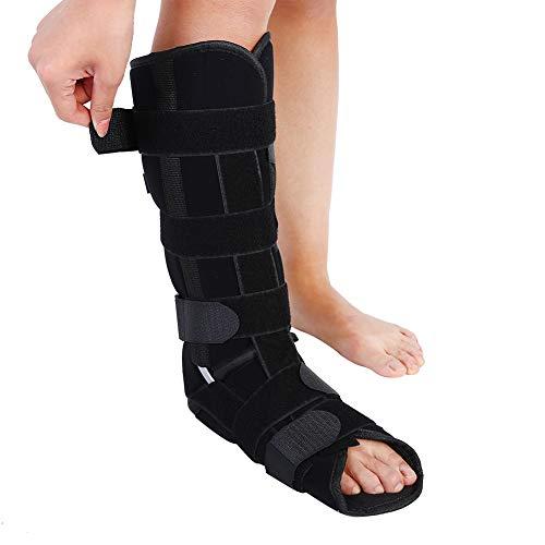 Yotown Knöchel Fuß Orthese, Für Plantarfasziitis und Achillessehnenentzündung, Adult Leg Fixation Protector Medizinische Knöchel Unterstützung Verstellbare Beinstütze Strap Knöchel (S/M / L)(M)