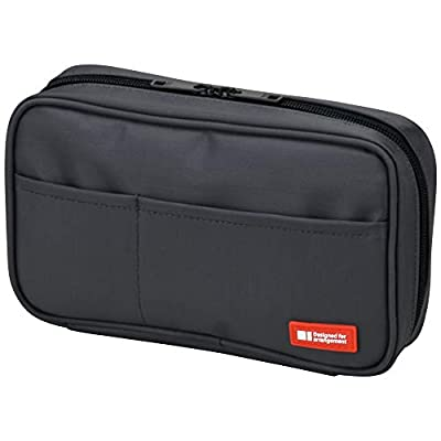 Multi-Layered Storage: large, wide open pockets allows you to store a variety of stationery items including pens, pencils, erasers, lead, sketchpads, notebooks, scissors and much more Secure: with internal mesh pockets and a external zipper closure, ...