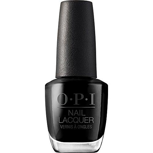 OPI Nail Polish, Nail Lacquer, Black Onyx, Black Nail Polish, 0.5 Fl Oz