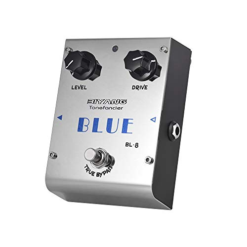Doolland BL-8 Tonefacier Series Blues Overdrive Guitar Effect Pedal