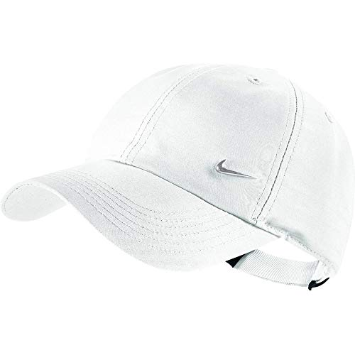 Nike Heritage 86 Metal Swoosh Cap white Kids, colore:white