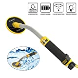 Wedigout Underwater Fully Waterproof Pin Pointer Metal Detector 100Feet Waterproof Handheld Pulse Induction Metal Finder with Pin Point Feature LED Indicator