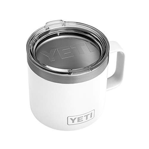 YETI Rambler 14oz Mug, White