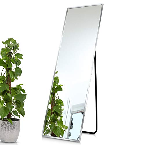 1000 MIRROWS Standspiegel mit Facette | 140 x 45 cm | Ganzkörperspiegel Stehspiegel Spiegel Groß & Modern…