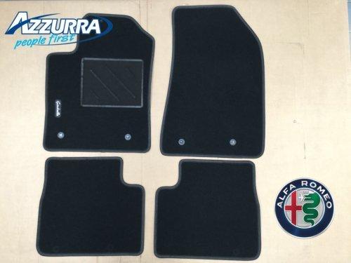 71807921 Alfa Romeo Giulietta 2 Pin Tappeti Moquette Anteriori e Posteriori Originali Set Tappetini...