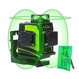 Huepar Niveau Laser Vert à 3x360, Laser Level Auto-nivellement Commutable...