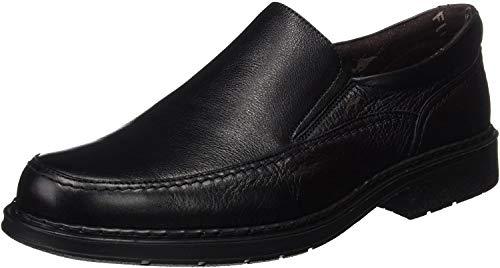 Fluchos- retail ES Spain 9578, Zapatos sin Cordones Hombre, Negro (Black), 42 EU