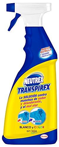 Neutrex transpirex sin Lejía eficaz contra manchas de sudor