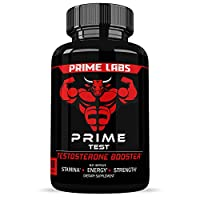 OPTIMIZED PHYSICAL PERFORMANCE – Suffering from low testosterone impacts energy, strength and stamina, which is why Prime Test is a natural testosterone booster BUILD STRONGER, LEANER MUSCLES – A daily supplement that naturally increases testosterone...