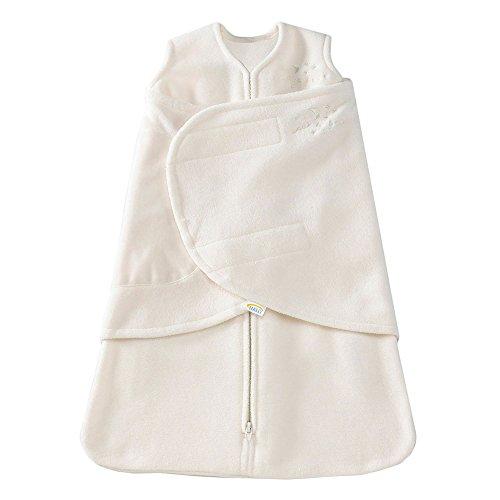 HALO Micro-Fleece Sleepsack Swaddle, 3-Way Adjustable Wearable...