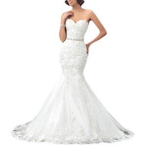OYISHA-Womens-Formal-Strapless-Sweetheart-Mermaid-Wedding-Dress-Lace-Bridal-Dresses-Long-2019-WD162