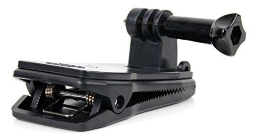 DURAGADGET Clip Morsetto/Pinza per Action Cam Panlelo V6, Panlelo V5, Hawkeye Firefly 8SE