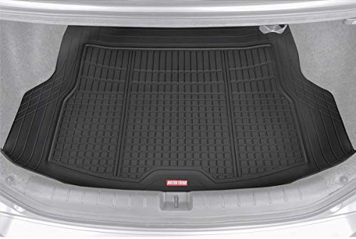 Premium FlexTough All-Protection Cargo Mat Liner  w/Traction Grips & Fresh Design, Heavy Duty Trimmable Trunk Liner for Car Truck SUV