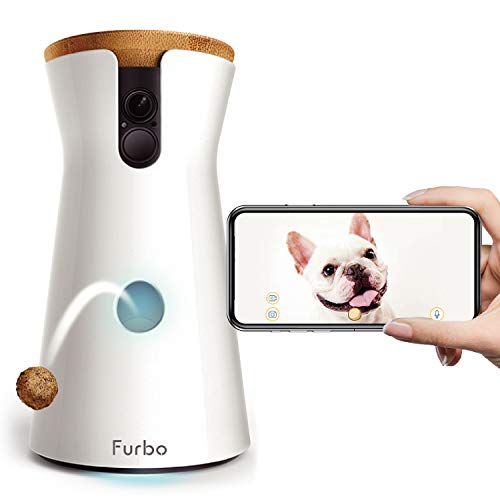 Furbo ドッグカメラ ファーボ- AI搭載 wifi ペットカメラ 犬 留守番 飛び出すおやつ 見守り 双方向会話 スマホ iPhone & Android 対応 アカウント共有 写真 動画 商品名