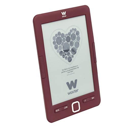 Woxter Scriba 195 Red E-Book - Lector de libros electrónicos 6',...