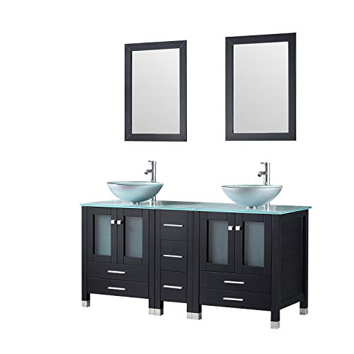 41dD1A5msTL - Best Corner Bathroom Vanity For Small Spaces
