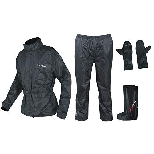 A-pro Combinaison Kit Anti Pluie Blouson Pantalon Gants Surbottes...