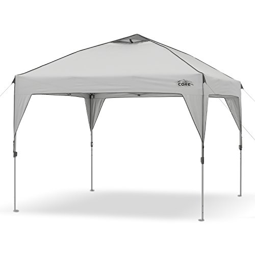 CORE 10' x 10' Instant Shelter Pop-Up Canopy Tent with...