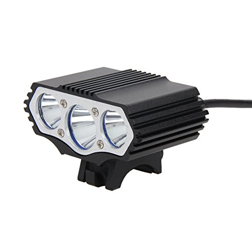 Starnearby luce bici luce per bici, con 3LED CREE XML T6,4modalit, 12000 lm