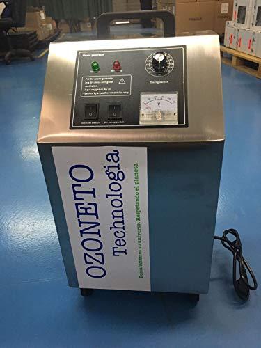 Generatore Ozone Air e Acqua 5G/H. Distruzione 99,9% virus e batteri