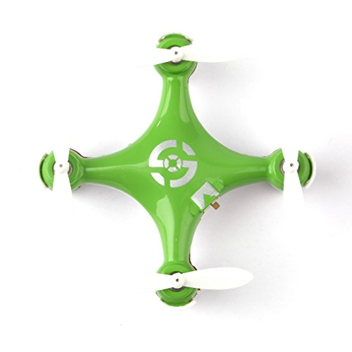 Cheerson CX10CX-106Axis 2.4G 4CH LED Mini RC Quadcopter RTF (Arancione)