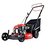 PowerSmart Lawn Mower, 21-inch & 170CC, Gas Powered Self-propelled Lawn Mower with 4-Stroke Engine,...