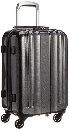 エー・エル・アイ・プラス A.L.I+ 【Amazon.co.jp限定】 スーツケース 54.5cm 28L 2.6kg 機内持込サイズ TSAロック搭載(カーボンブラック)