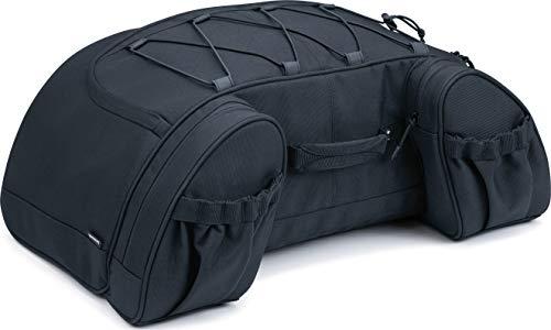 Kuryakyn 5281 Momentum Hitchhiker Motorcycle Travel Luggage: Weather Resistant Trunk Rack Bag, Black