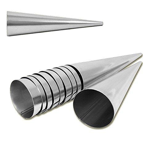 Set de 20 moldes con forma de cono - 14cm x 3,5cm