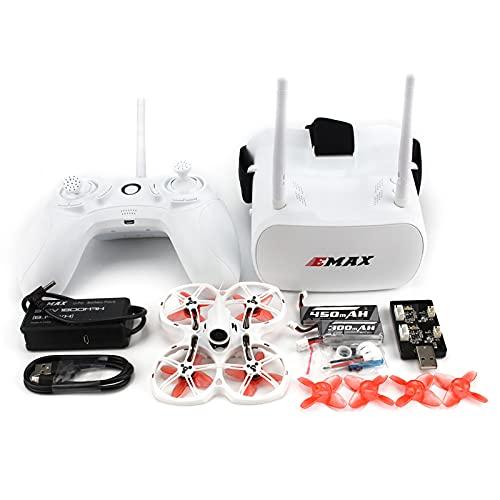 EMAX FPV, kit Tinyhawk II RTF, drone per la prima persona con telecamera Runcam Nano 2, 25-100-200 VTX commutabile, mini Drohne con occhiali e controller