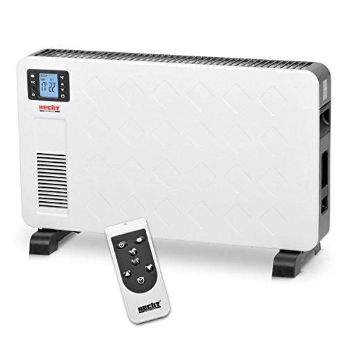 HECHT Elektro-Heizung 3623 Heizgerät Standheizung (bis 2300 Watt, LCD-Display, Fernbedienung)