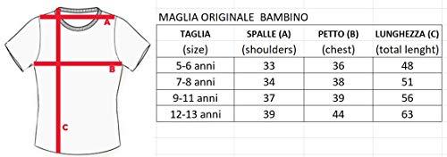T-Shirt-Originale-Rolling-Stones-Bambino-Bimbo-Ufficiale-Maglia-Maglietta-Lingua