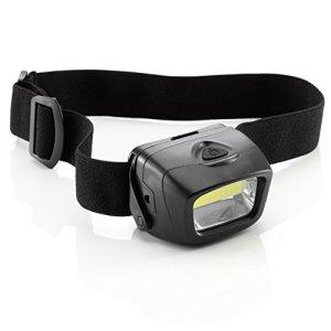 Auraglow - Linterna LED Ajustable para Cabeza de Perro con batería 7