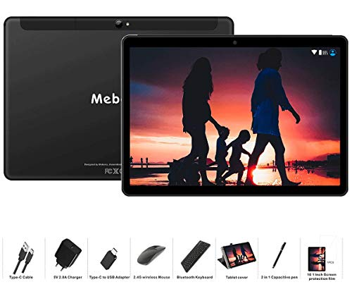 Tablet 10 Pollici MEBERRY Android 9.0 Pie Tablets 4GB RAM + 64GB ROM - Certificato Google GSM - Dual...