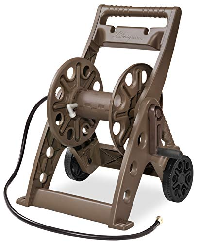 Liberty Garden Products 514 Two Wheel Hose Cart, Bronze