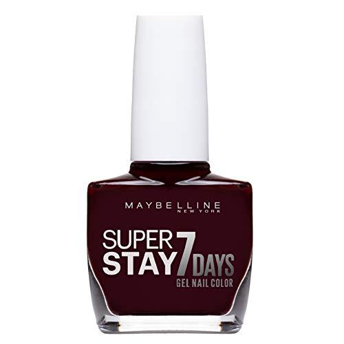 Maybelline New York - Superstay 7 Días, Esmalte de Uñas Efecto Gel, Tono 287 Rouge Couture