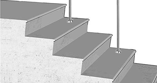 Best Stair Handrails Buying Guide Gistgear | Exterior Stainless Steel Handrail | Adjustable Exterior Metal | Modular Steel | Porch | Steel Usa | Wall Mounted