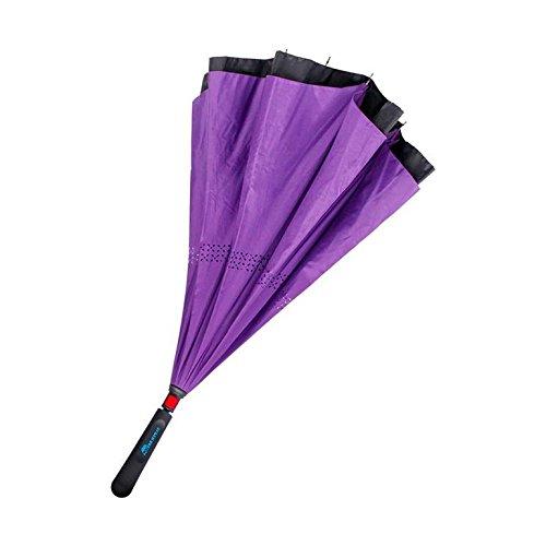 Superbrella Guarda-chuva Invertido Cor Roxo