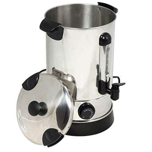 yorten 6.8 L Glühweinkocher Weinwärmer 6,8 Liter Glühweinkessel Einkochautomat 2000 W Temperaturregler 30° bis 100° Celsius mit Überwachungsleuchten