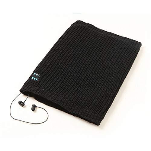 PTMD Écharpe chaude d'hiver sans fil Bluetooth pour course de nuit,...