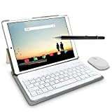 4G Tablette Tactile 10 Pouces Android 9.0, 2 in1 Tabletts avec Clavier 4 Go...