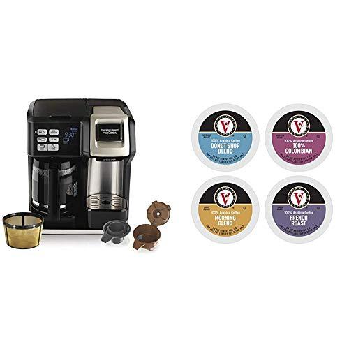 Hamilton Beach FlexBrew Coffee Maker, Single Serve & Full...