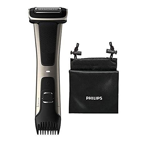 Philips BG7020/15 Bodygroom 7000 Depilatore Corpo da Uomo, Wet&Dry, Pettini Regolabili 3-11 mm,...