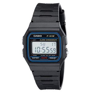 CASIO F91W-1 Casual Sport Watch 5