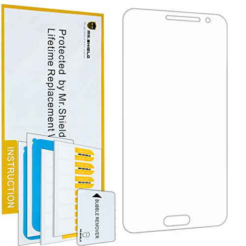 Mr.Shield for Samsung Galaxy J3 / Galaxy J3 (2016) [Tempered Glass] Screen Protector [0.3mm Ultra Thin 9H Hardness 2.5D Round Edge] with Lifetime Replacement