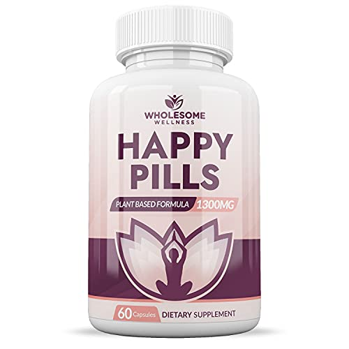 Happy Pills Natural Anti Anxiety Relief & Depression...