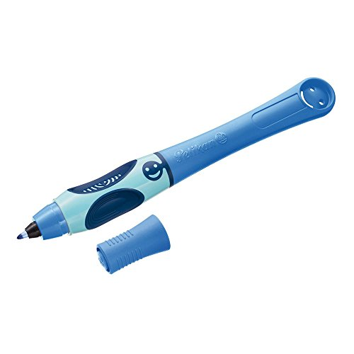 Pelikan 928051 Tintenschreiber Griffix Blau (Bluesea) für Rechtshänder