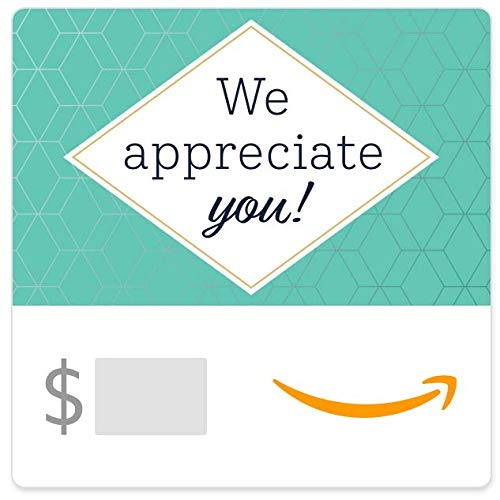 Amazon eGift Card - We Appreciate You- Hex pattern