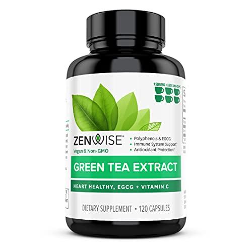 Zenwise Green Tea Extract with EGCG & Vitamin C -...