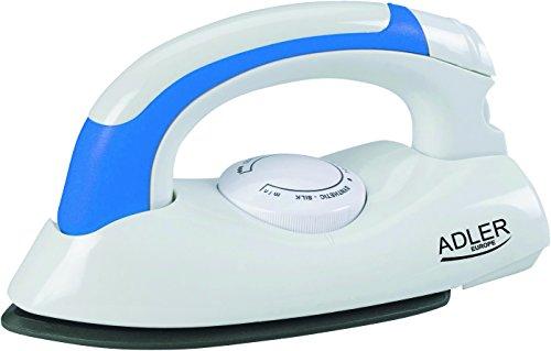 Adler AD 5015 Ferro a secco 800W Blu, Bianco